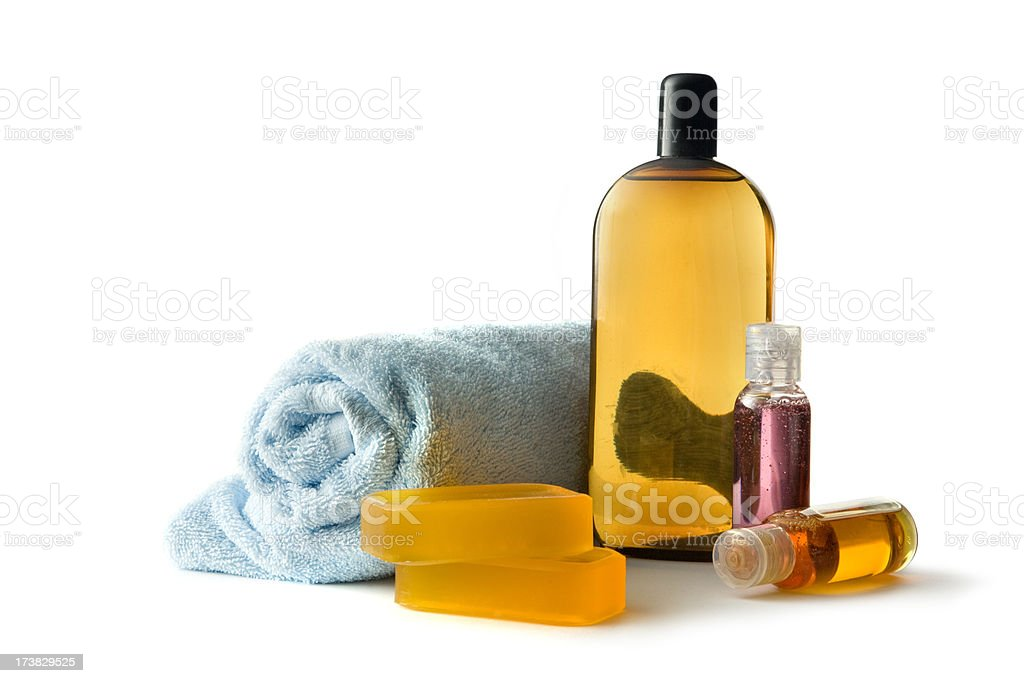 Bath: Products royalty-free stock photo