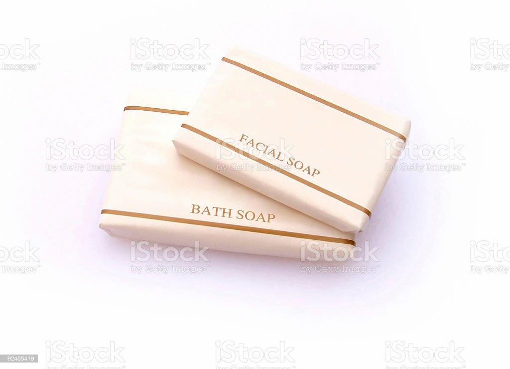Bath Products - Soap stock photo