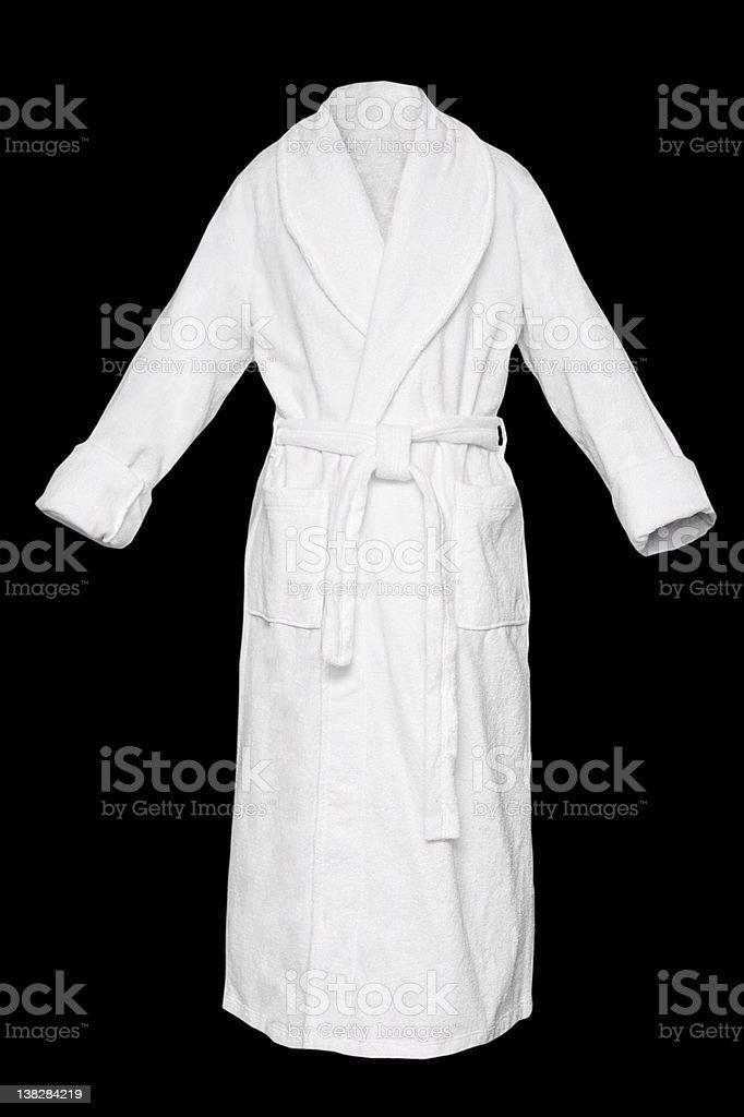 Bath robe stock photo
