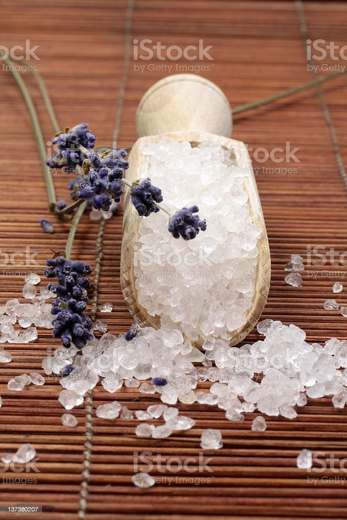 Bath Salts stock photo