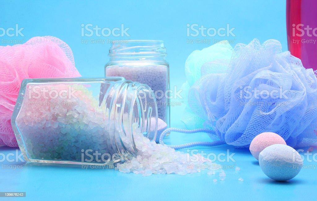 Bath Salts royalty-free stock photo