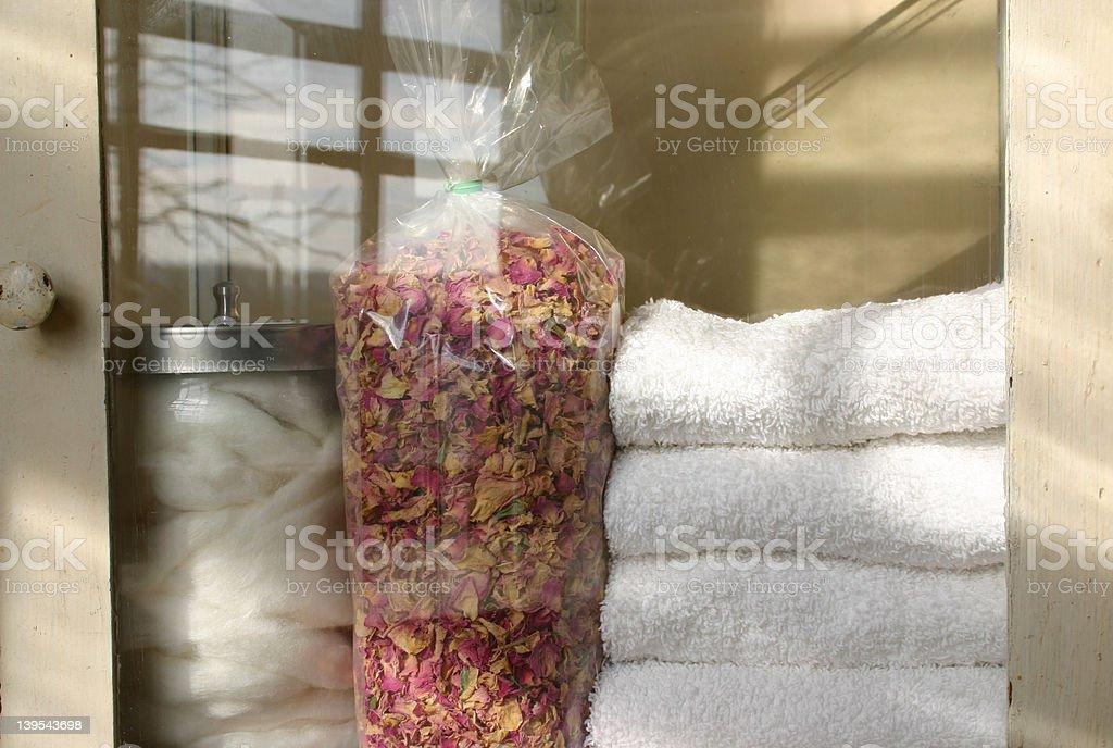 Bath Shelf royalty-free stock photo
