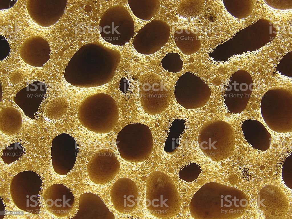 Bath Sponge background stock photo