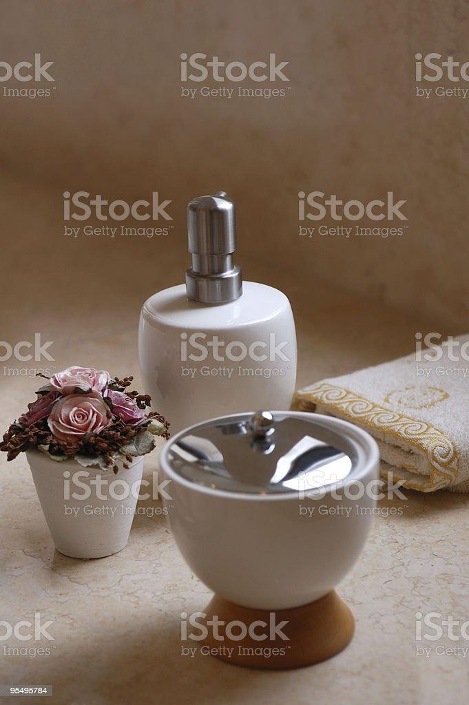 Bath Supplies royalty-free stock photo