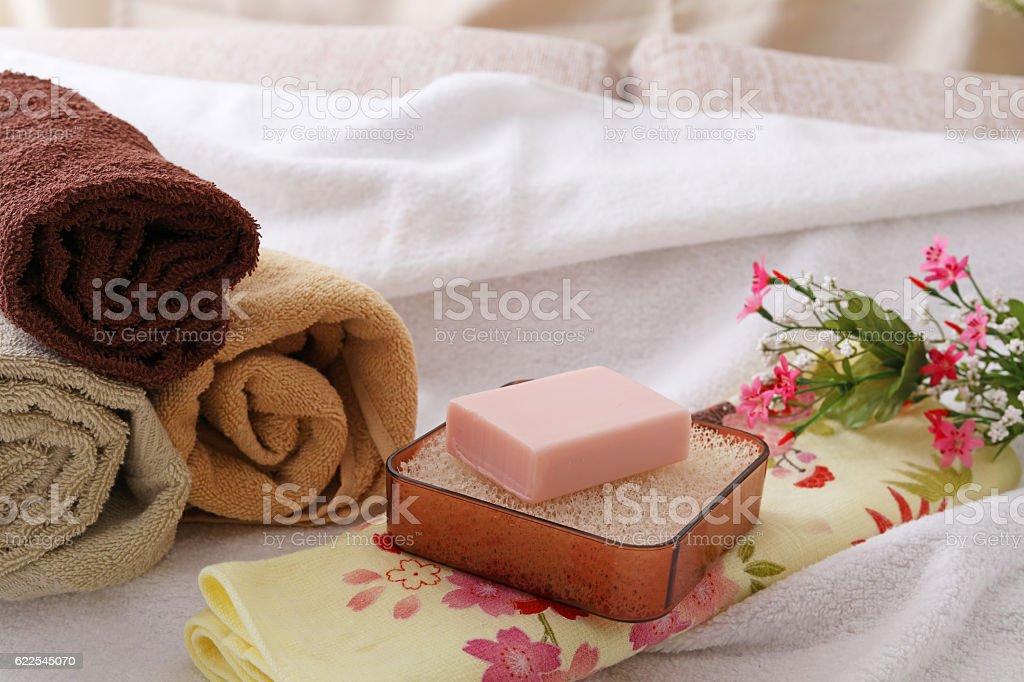 Bath time stock photo