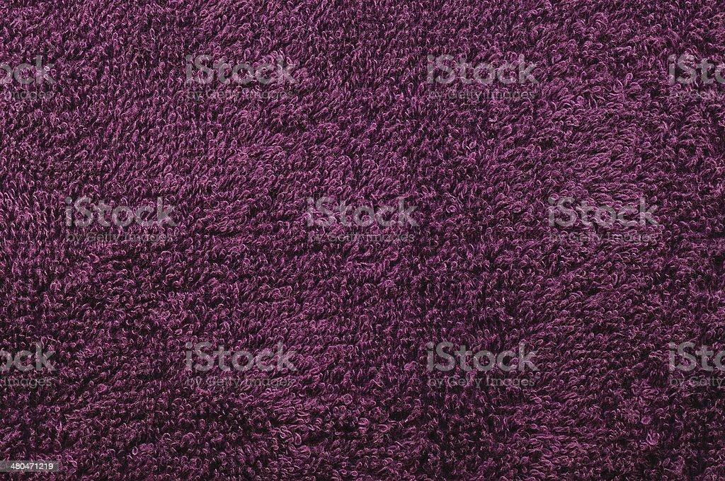 Bath towel, crimson, pink, vine, raspberry, red, natural plush terry royalty-free stock photo