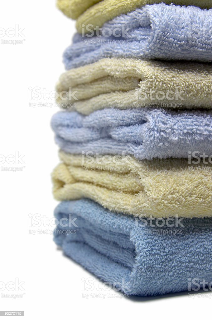 Bath Towels #3 royalty-free stock photo