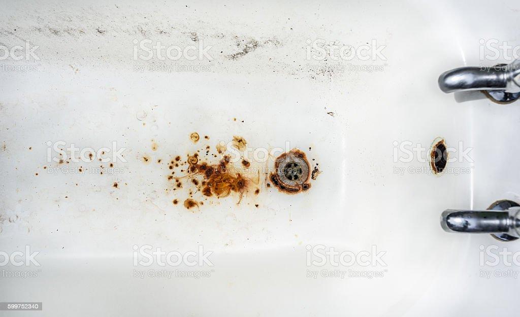 Bath Tub Grunge stock photo