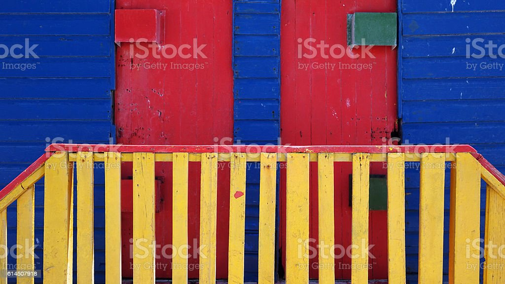 bathing box stock photo