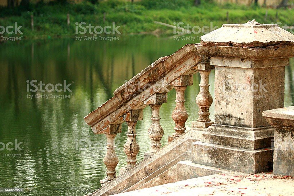 Bathing Ghat stock photo