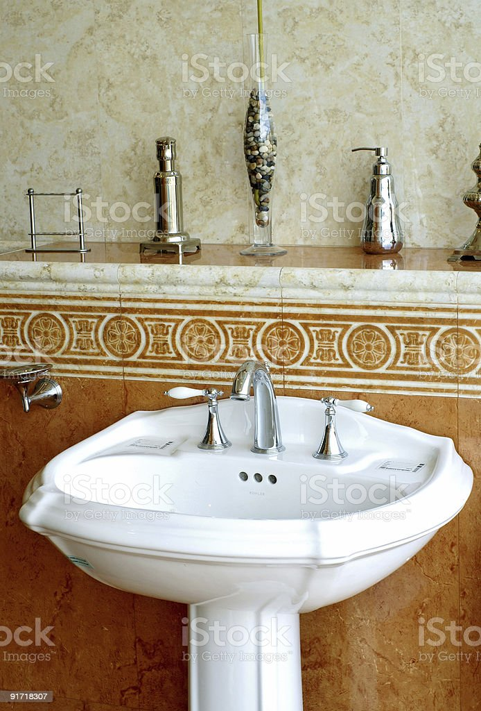 Bathroom Accents royalty-free stock photo