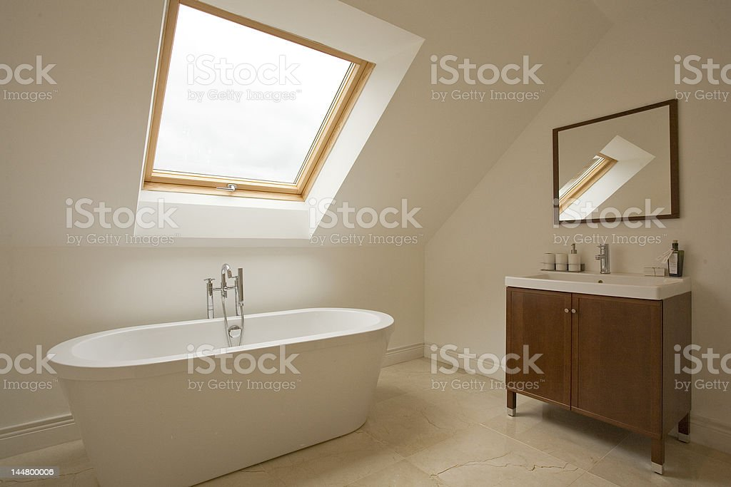 Bathroom and Cabinet stock photo
