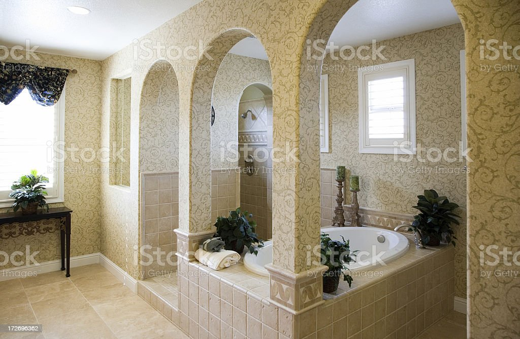 Bathroom Arches royalty-free stock photo