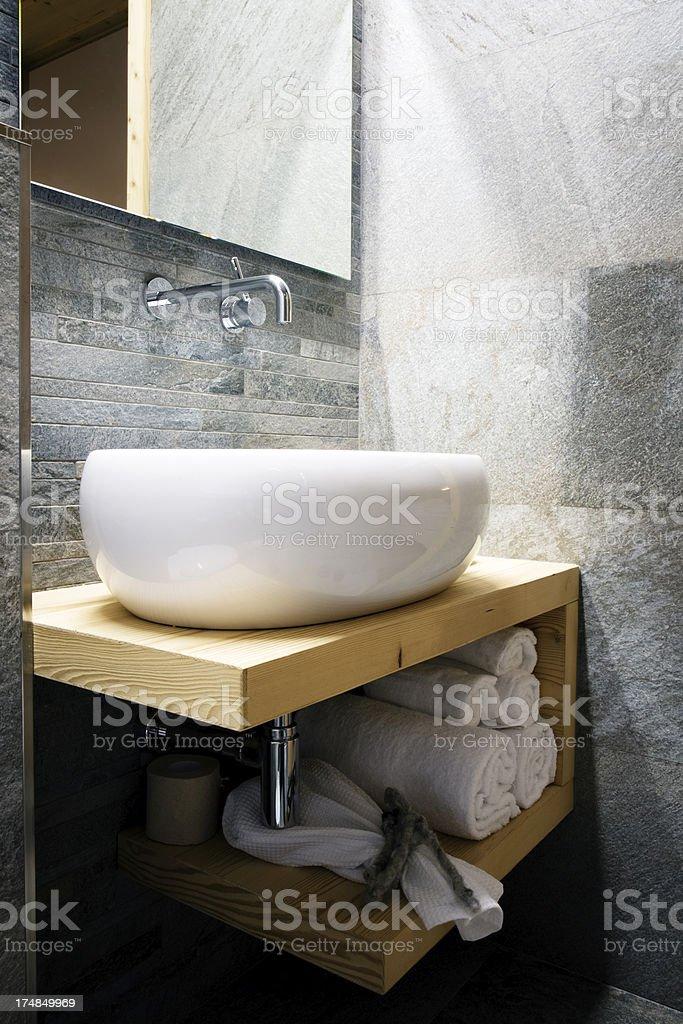 Bathroom. Color Image royalty-free stock photo