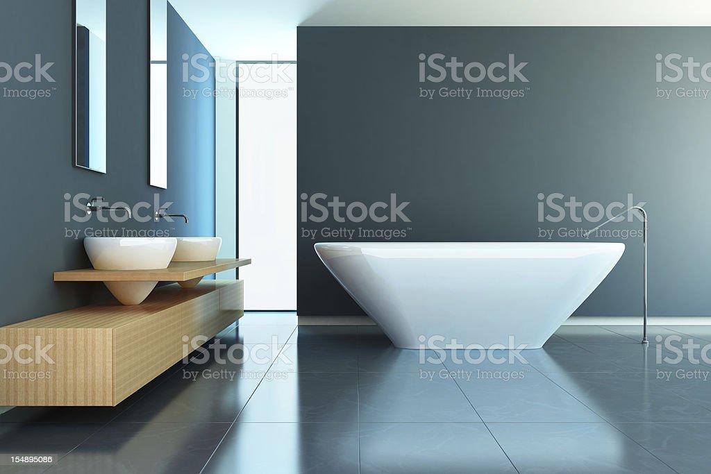 Bathroom Contemporary stock photo