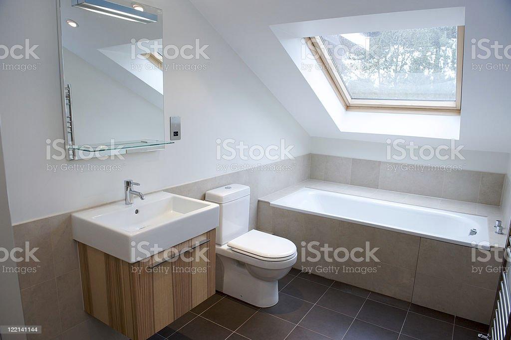 Bathroom conversion royalty-free stock photo