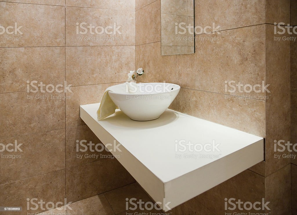 Bathroom decor royalty-free stock photo