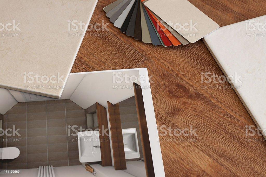 Bathroom Design. royalty-free stock photo
