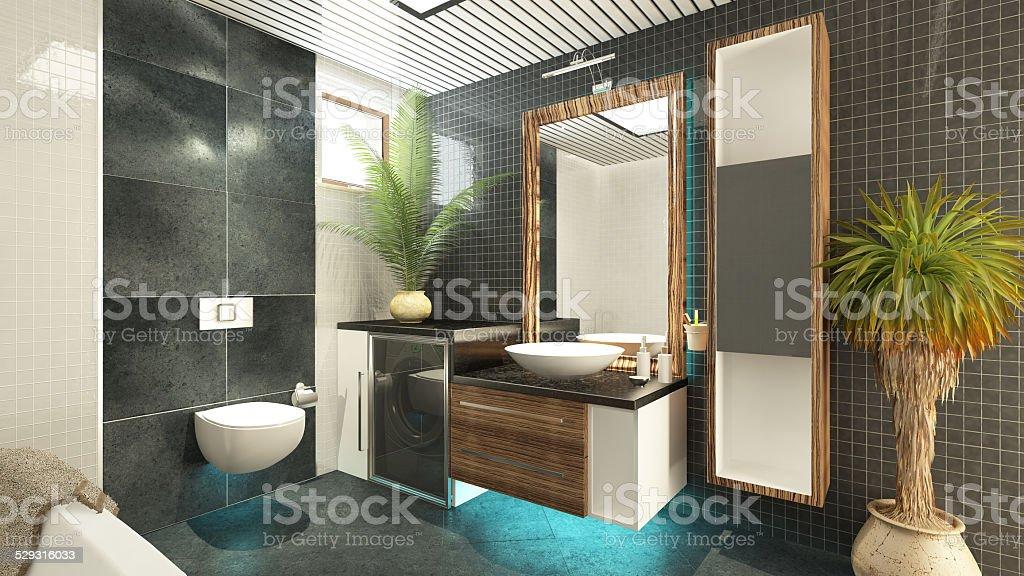 bathroom design stock photo
