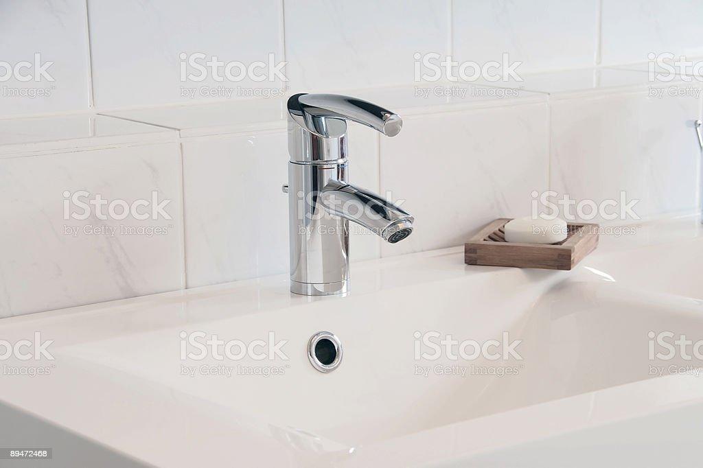 Bathroom Detail royalty-free stock photo