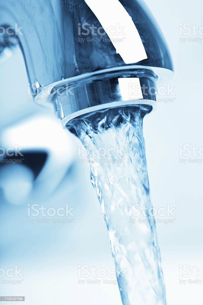 bathroom faucet royalty-free stock photo