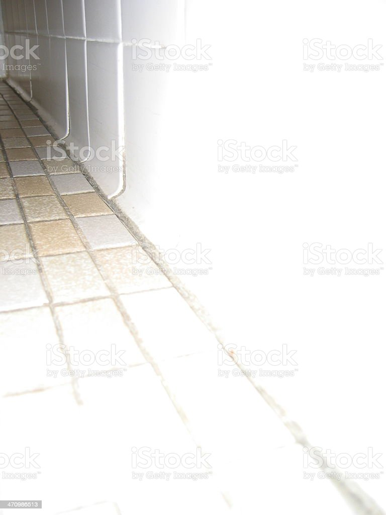 Bathroom Floor - B royalty-free stock photo