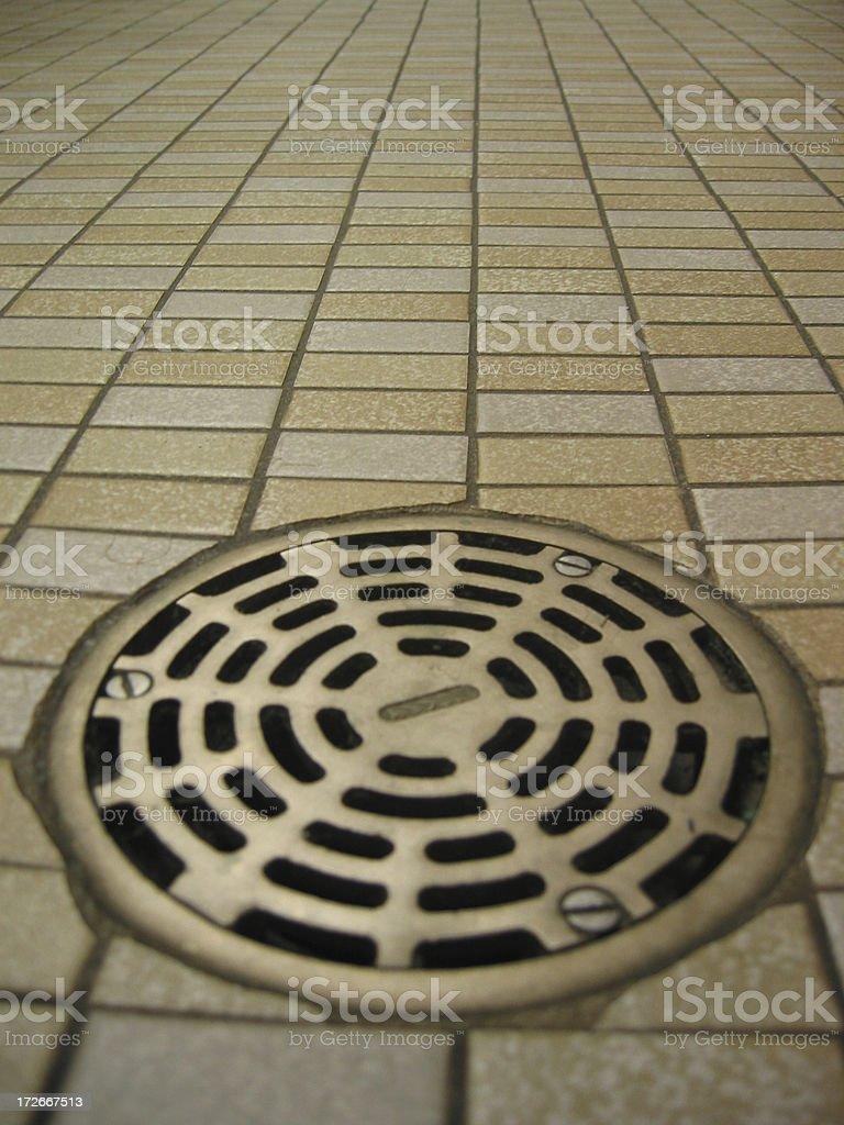 Bathroom Floor - C royalty-free stock photo