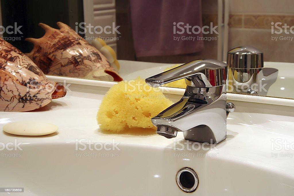 Bathroom furniture royalty-free stock photo