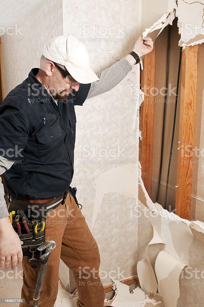 Bathroom Guy Remodeling stock photo