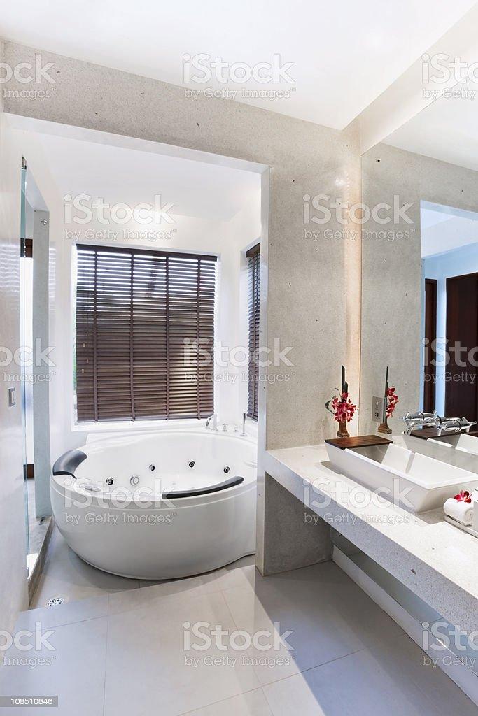 bathroom in sweet room royalty-free stock photo