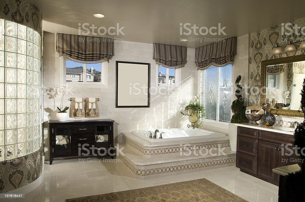 Bathroom Interior Home Design royalty-free stock photo