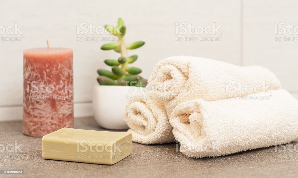 Bathroom interior - Stock Image stock photo