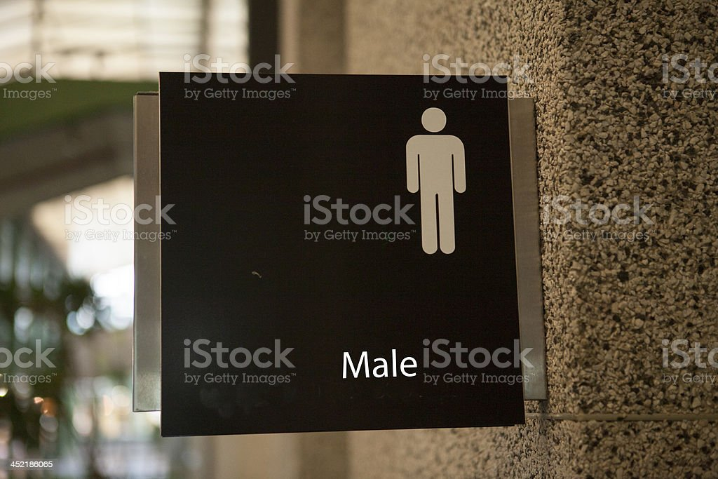 Bathroom Male royalty-free stock photo