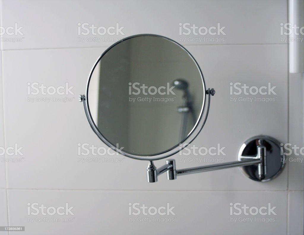 Bathroom Mirror stock photo