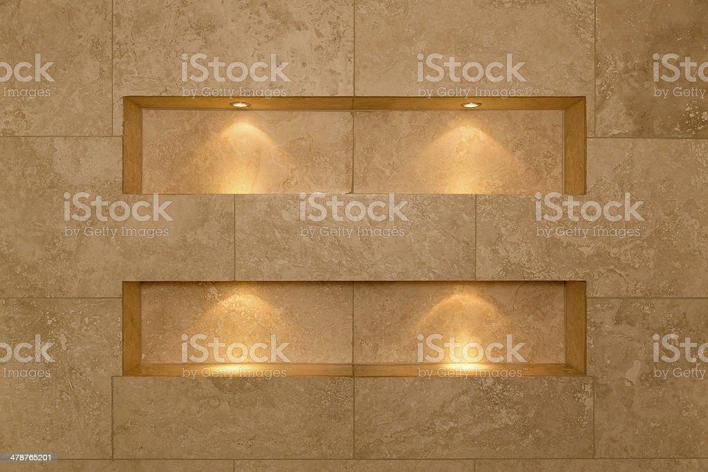 Bathroom Niches stock photo