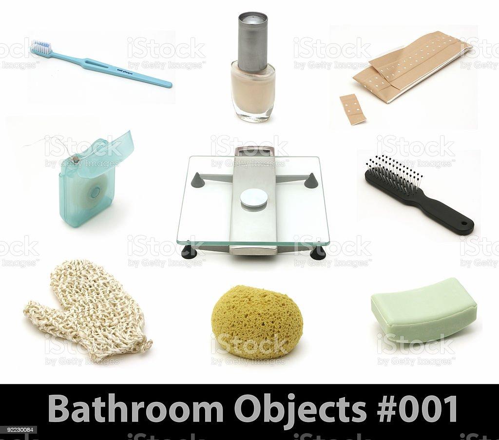 Bathroom Objects 001 royalty-free stock photo