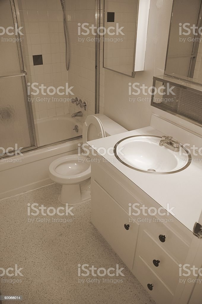 Bathroom. royalty-free stock photo