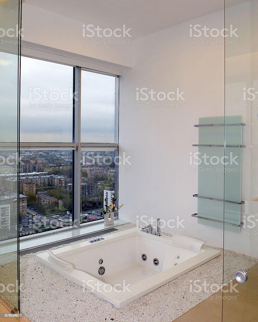 bathroom room stock photo