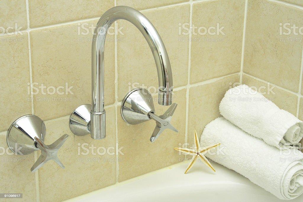bathroom sanctuary royalty-free stock photo