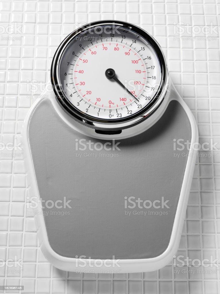 Bathroom Scales stock photo