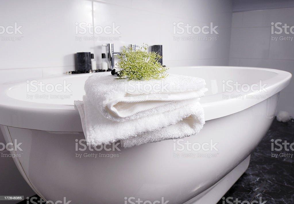 bathroom scene royalty-free stock photo