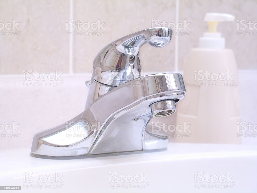 Bathroom Sink royalty-free stock photo