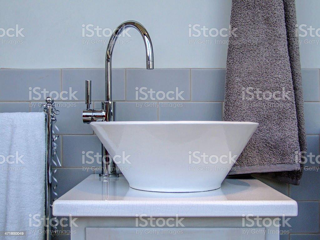 Bathroom Sink royalty-free stock photo