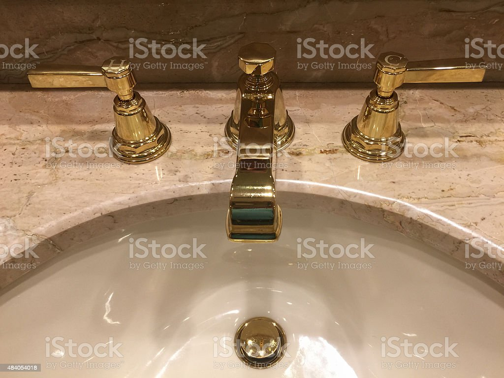 Bathroom Sink stock photo