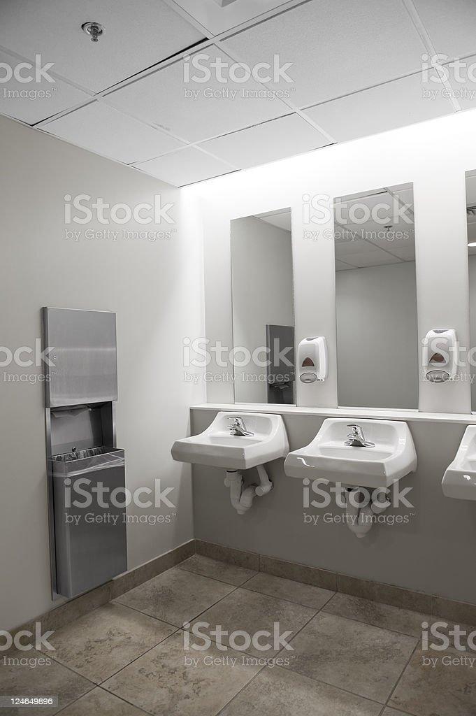 Bathroom Sinks royalty-free stock photo