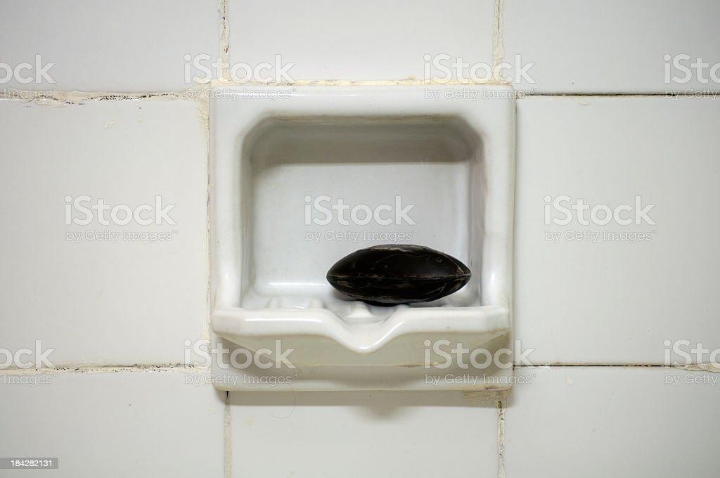 Bathroom soap stock photo