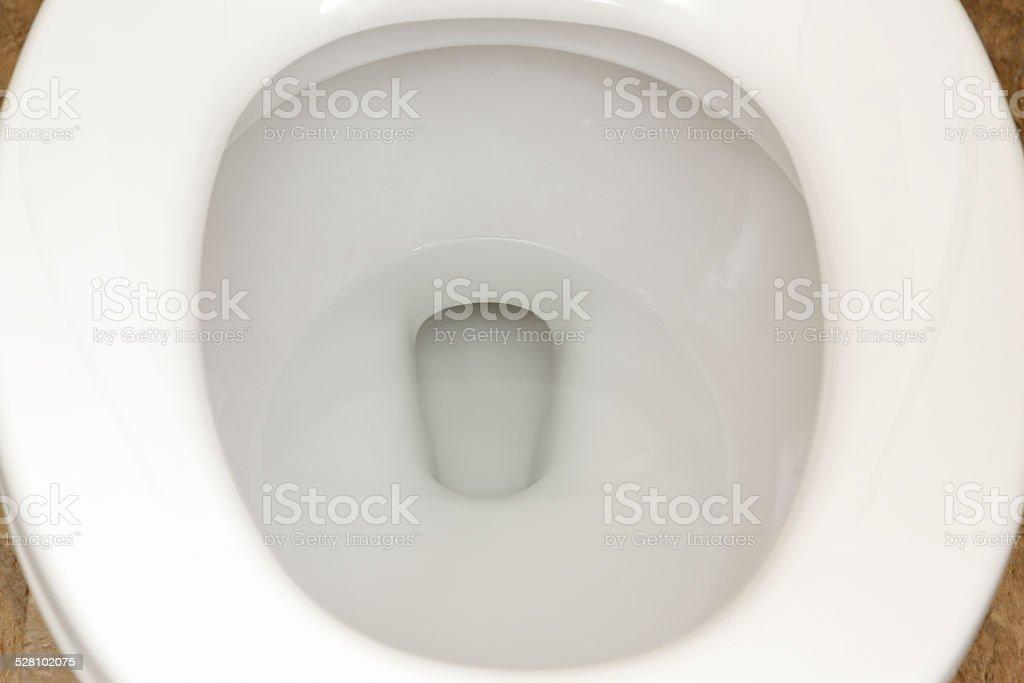 Bathroom Toilet Seat Close-up stock photo