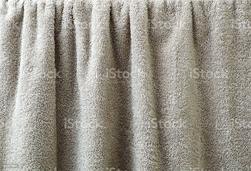 bathroom towel stock photo