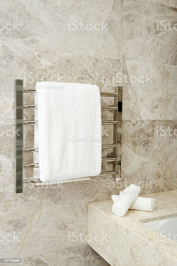 Bathroom Towels royalty-free stock photo