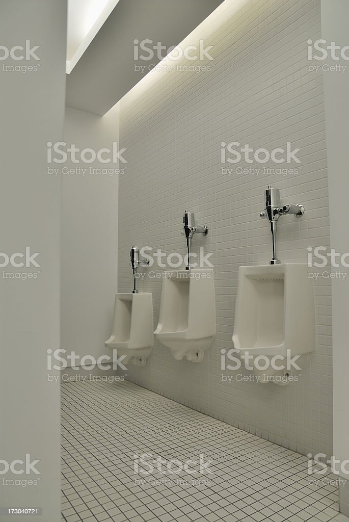 Bathroom urinal royalty-free stock photo